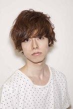 【ACQUA】楽にカッコ良く 大人気ショートパーマ  『入江誠』|ACQUA tuaのメンズヘアスタイル