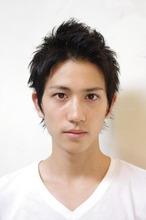 【メンズ・サッカー本田圭佑風】 髪型・ショート (渡辺)|ACQUA omotesandoのメンズヘアスタイル