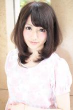黒髪ミディアム|XELHA 仲道 弘泰のヘアスタイル