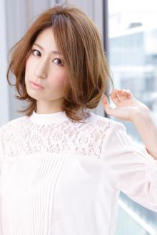 クールビューティーなフォルムで決める銀座フェミニン|AFLOAT JAPANのヘアスタイル