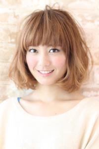 秋髪☆カジュアルボブ