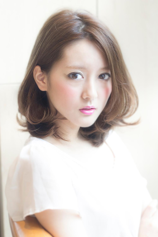 最新のヘアスタイル 髪型 巻き : 髪が伸びかけの人必見☆巻き方 ...