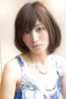 大人可愛い小顔ボブ 454【2013 秋冬】【髪型 ヘアカタログ】【縮毛矯正 パーマ】|AFLOAT JAPANのヘアスタイル