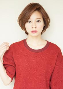 上品ショートボブ|AFLOAT JAPANのヘアスタイル