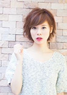 ショートもカットでさらに可愛く♡|AFLOAT JAPANのヘアスタイル
