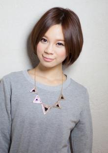 上品つやつやショートヘア|AFLOAT JAPANのヘアスタイル