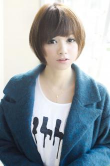 丸みふんわり愛されショート☆|AFLOAT JAPANのヘアスタイル