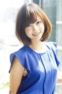 ふんわりモテ可愛いミディアム|AFLOAT JAPANのヘアスタイル