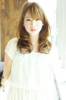 愛され大人ロング内巻きパーマ|AFLOAT JAPANのヘアスタイル