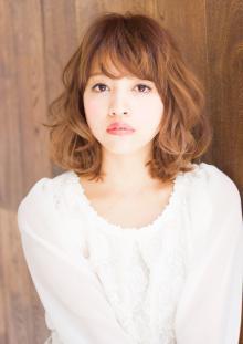 ふわふわパーマ|AFLOAT JAPANのヘアスタイル