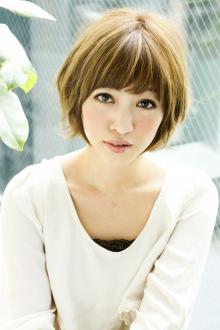 丸みふんわり愛されショート☆ AFLOAT JAPANのヘアスタイル