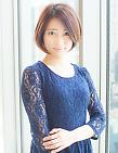 大人上品な前下りショートボブ|AFLOAT JAPANのヘアスタイル