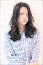 黒髪☆ゆるふわパーマ |XELHA 芝本 渉のヘアスタイル