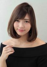 30代・40代・50代の大人女性にオススメ☆ ひし形シルエット、試してみませんか?|AFLOAT XELHAのヘアスタイル