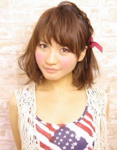 ☆不器用さんのかんたん編み込みアレンジ☆ AFLOAT JAPANのヘアスタイル