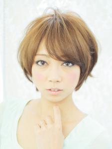 ☆ショートでさらに可愛く!好感度アップスタイル☆|AFLOAT JAPANのヘアスタイル