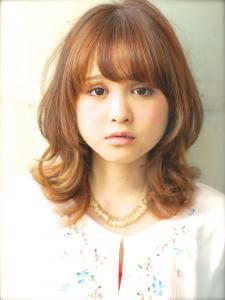 ガーリーミディ|AFLOAT JAPANのヘアスタイル