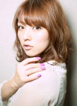 銀座美人系ナチュラルミディ|AFLOAT JAPAN 西 一治のヘアスタイル