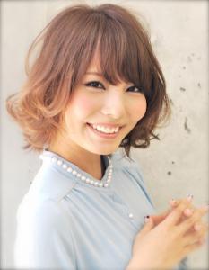 ランダムボブパーマ|AFLOAT JAPANのヘアスタイル