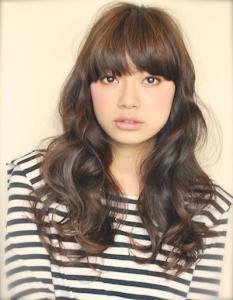 ロングラフウェーブ|AFLOAT JAPANのヘアスタイル