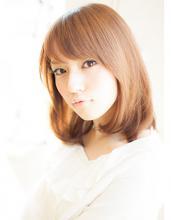 銀座美人系ナチュラルミディアムワンカール。|AFLOAT JAPAN 西 一治のヘアスタイル