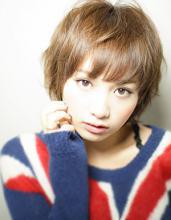 銀座ニュアンスショート 小顔でおしゃれに|AFLOAT JAPAN 西 一治のヘアスタイル