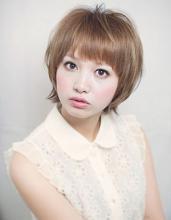 銀座美人系ナチュラルショート|AFLOAT JAPAN 西 一治のヘアスタイル