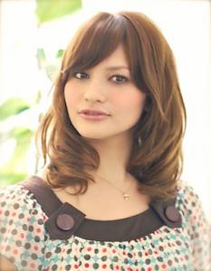 上品ミディアムパーマ|AFLOAT JAPANのヘアスタイル