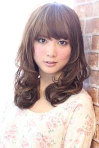 2013最新ヘアカタログ☆春髪セミディー