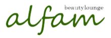 alfam beauty launge  | アルファム ビューティー ラウンジ  のロゴ