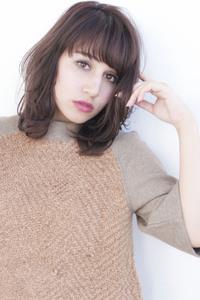 デジタルパーマ ひし形フェミニン愛されミディ【y−82】