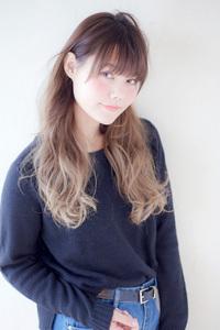 サイドパートフェミニングラデーションカラー【N-513】