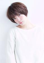 小顔マッシュショートボブ【H-348】|ALICe by afloatのヘアスタイル