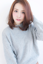 愛されひし形ワンカールミディ【H-350】|ALICe by afloatのヘアスタイル