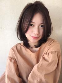 パーマ耳掛けひし形ミディ【y−115】