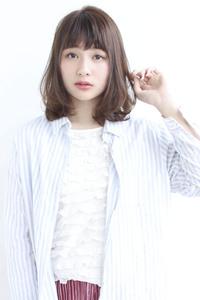【y−127】小顔ミディ簡単デジタルパーマ