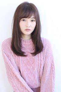 前髪パーマ 簡単スタイリングセミディ【y−130】