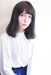 大人可愛い暗髪ロブスタイル T−207