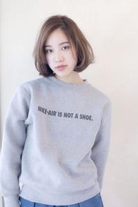 王道ひし形ワンカールボブ【ラベンダーブルージュ】U-3
