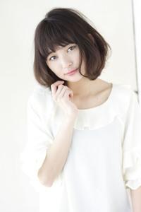 【担当 添田】柔らか曲線でつくるフェミニンボブs-358