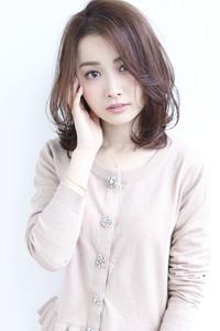 大人ひし形デジタルパーマミディ【y−141】