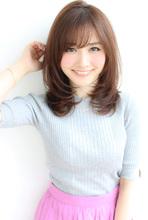 大人可愛いひし形セミディ【H-432】|ALICe by afloatのヘアスタイル