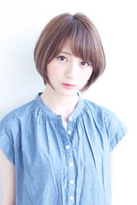 ラベンダアッシュショートカット【N-605】