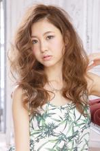 グラマラスの王道☆ワイドボリュームのゆる巻きロング|allys hair aoyamaのヘアスタイル