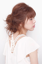 エアリーアップアレンジ|allys hair shinsaibashi OPAのヘアスタイル