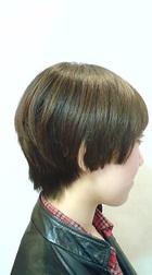 個性を活かすならコレ!軽すぎないマッシュボブ|hairdesign aRia 岡本店のヘアスタイル