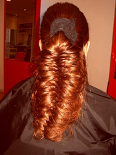 フィッシュボーン|hairdesign aRia 岡本店のヘアスタイル