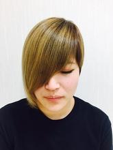 ボブ|Hair&nail h Blancheのヘアスタイル