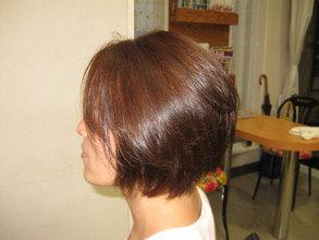 サラツヤボブ|エル美容室のヘアスタイル