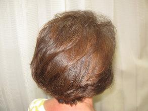 細くなった髪の毛もカラーでツヤツヤに!!|エル美容室のヘアスタイル